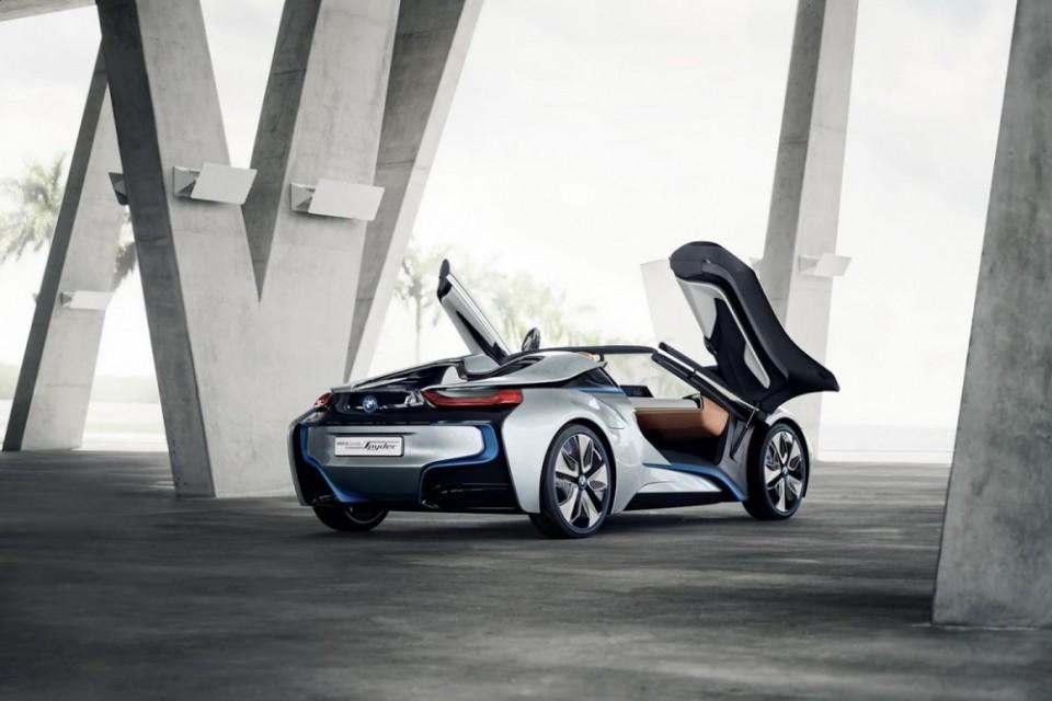 BMW i8敞篷Spyder車型 預告2018年量產